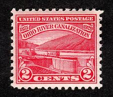 US # 681 (1929) 2c MNH/OGnh - Grade: Superb - Ohio River Canalization