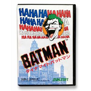 DYNAMITE BATMAN - Replacement plastic spare box Famicom game Return of the Joker
