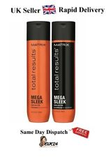 Matrix NEW Total Results MEGA SLEEK Shampoo and Conditioner 300ml - Rapid DELIVE