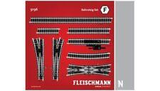 "FLEISCHMANN 9196 SET ""F"" BINARI SCALA N 1:160  contiene 20 pezzi"