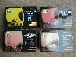 Dynamite Baits 250g Trays of Frenzied Luncheon Meat various flavours
