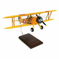 Daron Worldwide N2S-2/3/4 Stearman Peril Model Airplane, Yellow