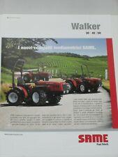 SAME GAMME DE PRODUITS 2017 Traktoren Prospekt in französisch SLH 44