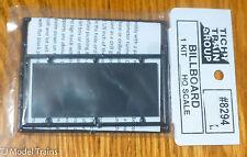 Tichy Train Group #8294 (Billboard HO Scale) Undec Plastic Kit