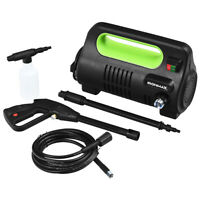 1800PSI Portable Electric High Pressure Car Washer 1.96GPM 1800W W/ Reel Green