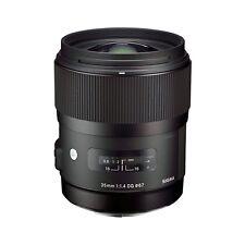 Sigma 35mm f/1.4 DG HSM Art Lens for Canon Digital SLR Cameras - NEW