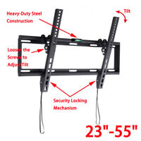 "Flat TV Wall Mount Bracket Holder For 23 32 37 40 42 46 47 50 55"" Inch LCD LED"