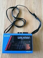 sony walkman wm 22 personal cassette player