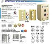 Pan Pacific Universal Keystone Icons for Data Voice Phone Computer Wallplate