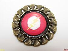 Steampunk badge brooch pin DC The Flash Big Bang Theory superhero