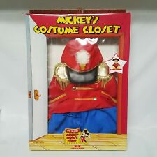 Talking Mickey Mouse Show Wow Bandleader Outfit Vintage Costume Worlds of Wonder