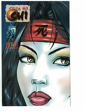 Shi: the Blood of Saints #2 VF/NM fan edition - gold foil variant - crusade