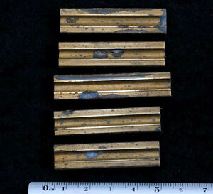 5 x lines frame bookbinding Brass Type Letterpress hot stamp hotfoil emboss