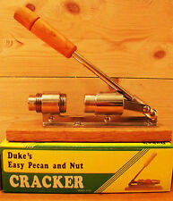 Pecan and Nut CRACKER, by Duke's, Easy adjustable-cracks all med & soft shells!