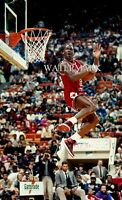 Michael Jordan MJ Slam Dunk Contest 8x10 Chicago Bulls Basketball Rookie Yr.