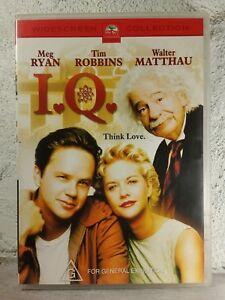 I.Q. - DVD - Meg Ryan - Tim Robbins - Albert Einstein - RARE 1994  MOVIE IQ - R4