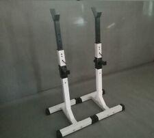 Adjustable Squat Rack (Heavy Duty) Bench & Shoulder Press - Brand New