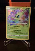 2020 Vivid Voltage Celebi Amazing Rare 009/185 Pokemon SWSH TCG