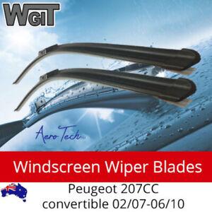 Windscreen Wiper Blades For for Peugeot 207CC convertible 02-07-06-10 - Aero Des