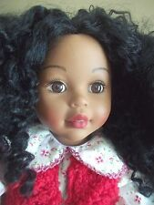 """18 """"  LATINA  BLACK or CREOLE dominican arab MADAME ALEXANDER jointed DOL"""