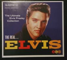 Elvis Presley - The Real... Elvis - 90 Great Tracks - NM/VG+ 3 CD Set