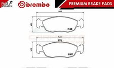 BREMBO GENUINE ORIGINAL PREMIUM BRAKE PADS PAD SET FRONT AXLE P61051