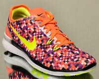 12427239bc14 Nike WMNS Free 5.0 TR Fit 5 Print V womens train training sneakers hyper  orange