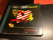 THE HEART OF THE PIANO CONCERTO RCA Victor Record E 78 4 LP Box