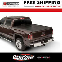 UnderCover Flex Tonneau Hard Fold Cover fit 14-18 Chevy Silverado 1500 6.5' Bed