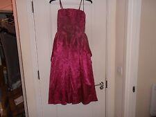 John Charles Pink Cocktail Dress/Prom Dress Size UK12