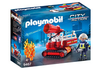 Playmobil 9467 - Fire Water Cannon - NEW!!