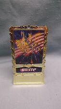 Lot Of 25 Música a Todo Color Holograma Inserto Patriótico Trofeos Base con Peso