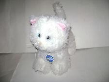 "BUILD A BEAR Promise Pets HIMALAYAN PERSIAN WHITE CAT PLUSH STUFFED 12"" RARE"