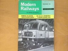 December Modern Railways Rail Transportation Magazines