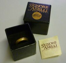 Lord of Rings Signore degli Anelli UNICO ANELLO ONE RING - Le due Torri - Alice