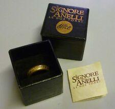 Lord of Rings Signore degli Anelli UNICO ANELLO ONE RING - Le due Torri - Alice