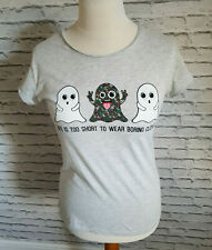 FB Sister Spring Ghost Short Sleeve Blouse Top Women SIZE XL Xlarge