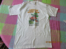 2004 American Dream Show Cars Trucks Motorcycles white T-Shirt size small NOS