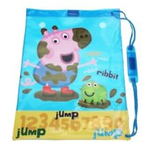 NEW Peppa Pig 'George' Muddy Sports Swimming / Library Bag - Blue