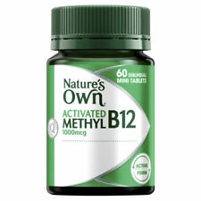 Nature's Own Vitamin B12 Tablets - 60 Count