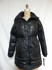 Ralph Lauren Down Anorak Parka Coat  XS Black Missing Hood  New With Defects