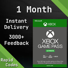Xbox Live 1 MONTH Gold & Game Pass Ultimate Code Key - (2 x 14 Day) Series One