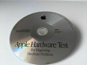 CD Apple Hardware Test.  Came with Mac Imac G3 2001.  SW Version 1.1 691-3096-A