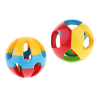 2pieces Baby Rattle Ball Developmental Educational Toy for Infants Toddlers