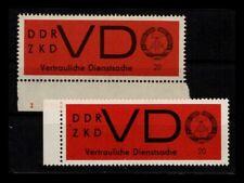 DDR ZKD 1965 Nr D3x+y postfrisch (403786)