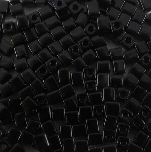 4 mm CUBE Miyuki Square Japanese Seed Beads  20 gram  #304-550