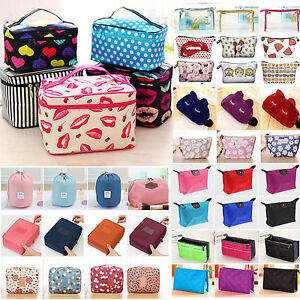 Cosmetic Make Up Travel Large Toiletry Bag Pouch Organizer Handbag Case Storage!