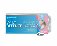 Blis K12 Daily Defence 30 Strawberry Lozenges -  Probiotic for a healthy throat