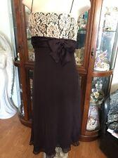 Stunning Short Evening Dress Prom Dress Black Color Size 12