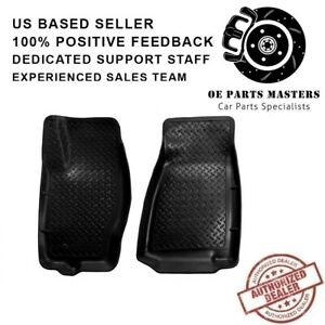 Husky Liners 30611 Black 1st Row Liners For 05-10 Jeep Commander&Grand Cherokee